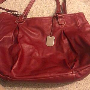 FurlA red large bag